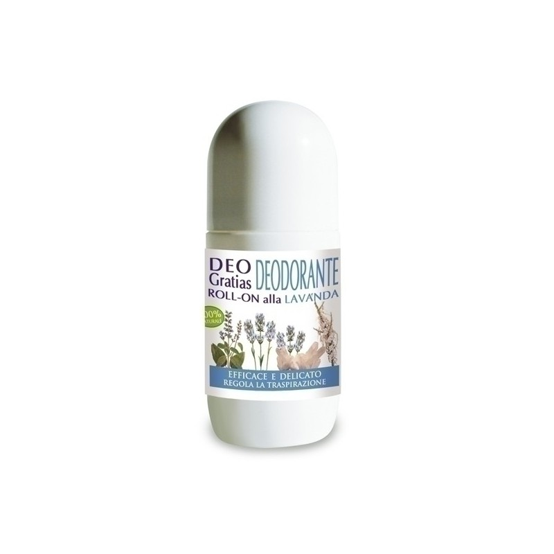 DEO GRATIAS Deodorante Roll-on Lavanda 50 ml - Dr. Giorgini