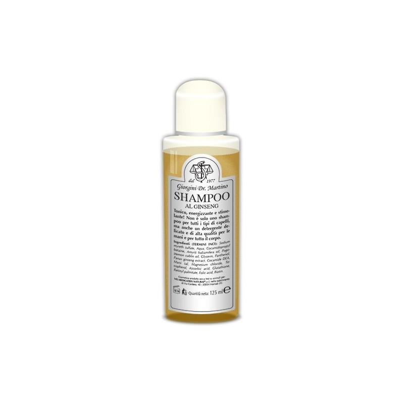 Shampoo al Ginseng (125 ml) - Dr. Giorgini
