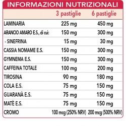 BRUCIA FAST DONNA 90 pastiglie (45 g) - Dr. Giorgini