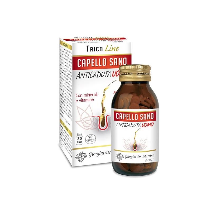 CAPELLO SANO ANTICADUTA UOMO 120 pastiglie (72 g) - Dr. Giorgini