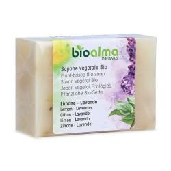 Sapone vegetale al Limone e Lavanda BIO (100 g) - Bioalma