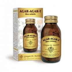 AGAR-AGAR-T FIBRA SOLUBILE 180 pastiglie (90 g) - Dr....