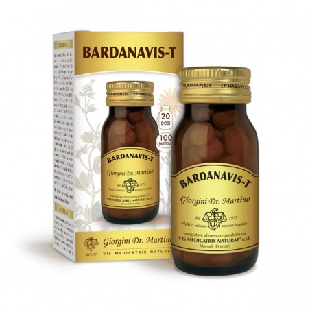 BARDANAVIS-T 100 pastiglie (50 g) - Dr. Giorgini