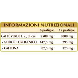 CAFFE' VERDE 180 pastiglie (90 g) - Dr. Giorgini