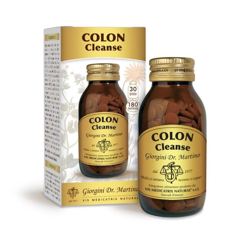 COLON CLEANSE 180 pastiglie (90 g) - Dr. Giorgini
