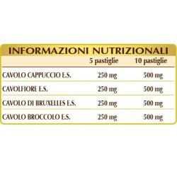 CRUCIFER-T 140 pastiglie (70 g) - Dr. Giorgini