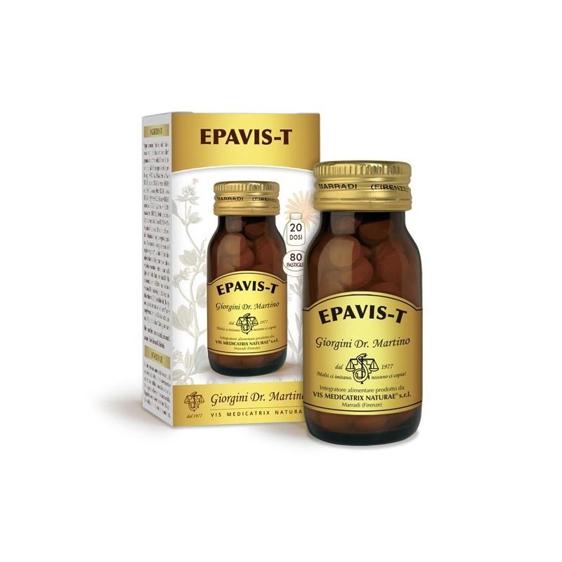 EPAVIS-T 80 pastiglie (40 g) - Dr. Giorgini
