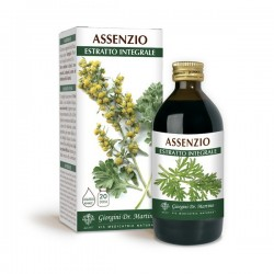 ASSENZIO ESTRATTO INTEGRALE 200 ml Liquido analcoolico...
