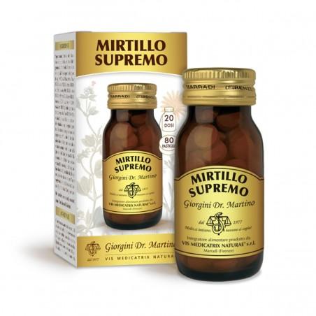 MIRTILLO SUPREMO 80 pastiglie (40 g) - Dr. Giorgini