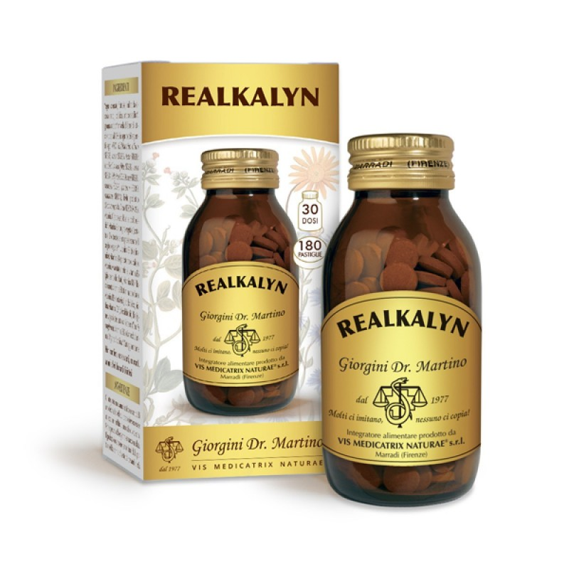 REALKALYN 180 pastiglie (90 g) - Dr. Giorgini