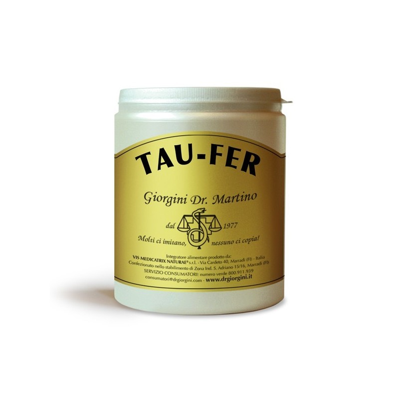 TAU-FER 500 g polvere - Dr. Giorgini
