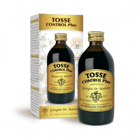 TOSSE CONTROL PLUS 200 ml liquido analcoolico - Dr. Giorgini