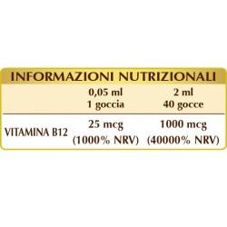 VITAMINA B12 Pura 100 ml liquido analcoolico - Dr. Giorgini