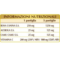 VITAMINA C PURA 60 pastiglie (30 g) - Dr. Giorgini