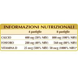 VITAMINA D CON CALCIO E FOSFORO 150 pastiglie (90 g) - Dr. Giorgini