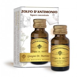 ZOLFO D'ANTIMONIO Liquido alcoolico 10 ml - Dr. Giorgini