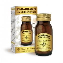 RABARBARO con OLI ESSENZIALI 80 pastiglie (40 g) - Dr....