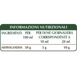 ASHWAGANDHA ESTRATTO INTEGRALE 200 ml Liquido analcoolico - Dr. Giorgini