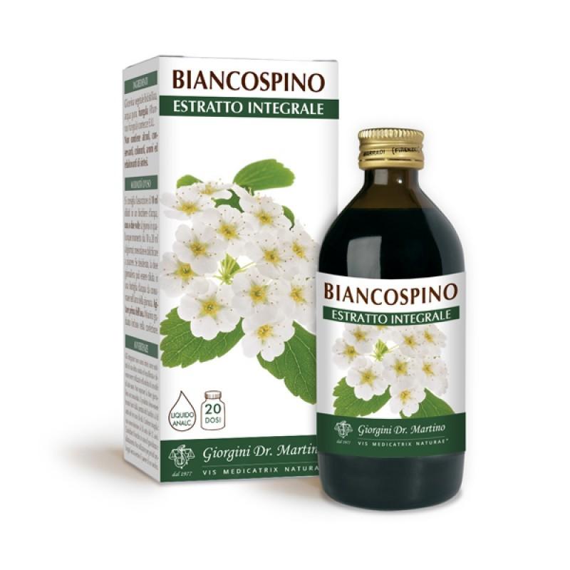 BIANCOSPINO ESTRATTO INTEGRALE 200 ml  Liquido analcoolico - Dr. Giorgini