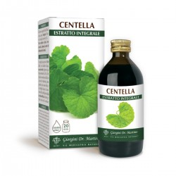 CENTELLA ESTRATTO INTEGRALE 200 ml Liquido analcoolico...