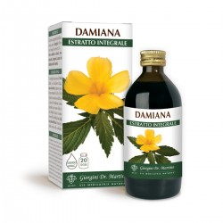 DAMIANA ESTRATTO INTEGRALE 200ml Liquido analcoolico -...