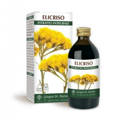 ELICRISO ESTRATTO INTEGRALE 200 ml Liquido analcoolico...