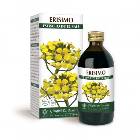 ERISIMO ESTRATTO INTEGRALE 200 ml Liquido analcoolico - Dr. Giorgini