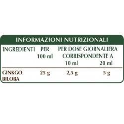 GINKGO BILOBA ESTRATTO INTEGRALE 200 ml Liquido analcoolico - Dr. Giorgini