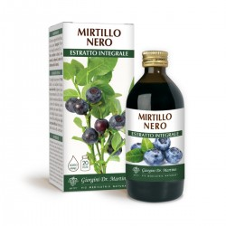 MIRTILLO NERO ESTRATTO INTEGRALE 200 ml Liquido...