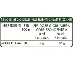 MUIRA PUAMA ESTRATTO INTEGRALE 200 ml Liquido analcoolico - Dr. Giorgini