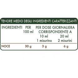 NOCE ESTRATTO INTEGRALE 200 ml Liquido analcoolico - Dr. Giorgini
