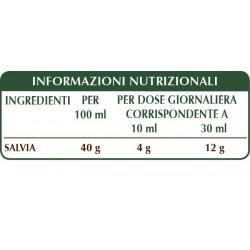 SALVIA ESTRATTO INTEGRALE 200 ml Liquido analcoolico - Dr. Giorgini