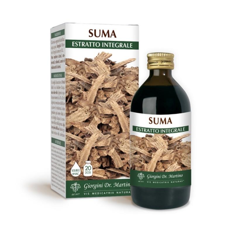 SUMA ESTRATTO INTEGRALE 200 ml Liquido analcoolico - Dr. Giorgini