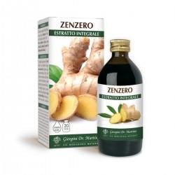 ZENZERO ESTRATTO INTEGRALE 200 ML Liquido analcoolico -...