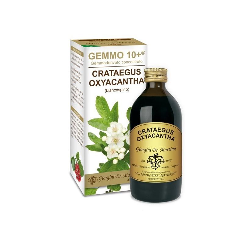 GEMMO 10+ Biancospino 200 ml Liquido analcoolico - Dr. Giorgini