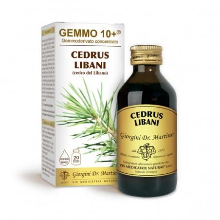 GEMMO 10+ Cedro del Libano 100 ml Liquido analcoolico - Dr. Giorgini