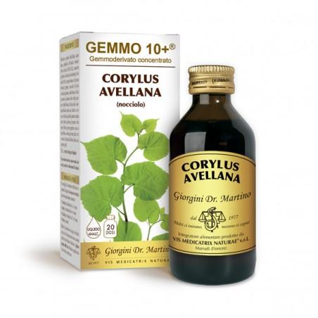 GEMMO 10+ Nocciolo 100 ml Liquido analcoolico - Dr. Giorgini