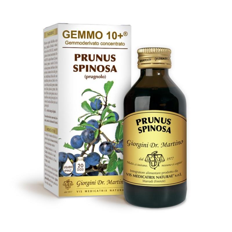 GEMMO 10+ Prugnolo 100 ml Liquido analcoolico - Dr. Giorgini