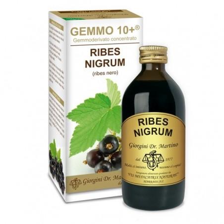 GEMMO 10+ Ribes Nero 200 ml Liquido analcoolico - Dr. Giorgini