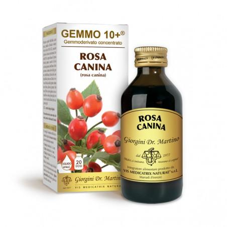 GEMMO 10+ Rosa Canina 100 ml Liquido analcoolico - Dr. Giorgini