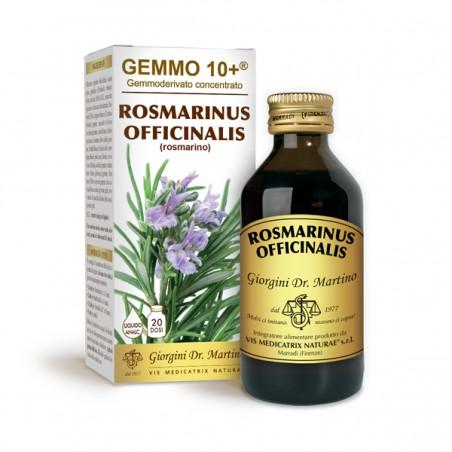 GEMMO 10+ Rosmarino 100 ml liquido analcoolico - Dr. Giorgini