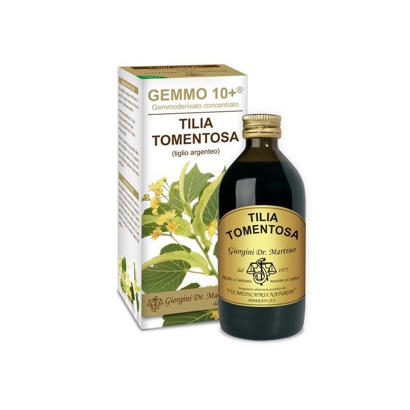 GEMMO 10+ Tiglio Argenteo 200 ml Liquido analcoolico - Dr. Giorgini