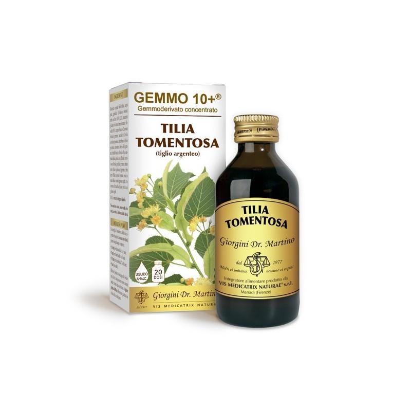 GEMMO 10+ Tiglio Argenteo 100 ml Liquido analcoolico - Dr. Giorgini