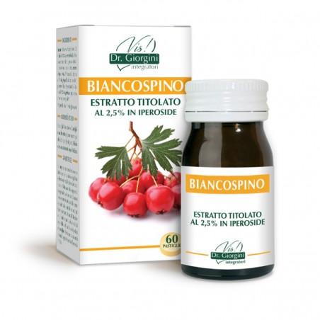 BIANCOSPINO ESTRATTO TITOLATO 60 pastiglie (30 g) - Dr. Giorgini