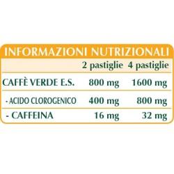 CAFFE' VERDE ESTRATTO TITOLATO 60 pastiglie (30 g) - Dr. Giorgini