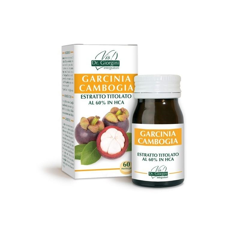 GARCINIA CAMBOGIA ESTRATTO TITOLATO 60 pastiglie (30 g) - Dr. Giorgini