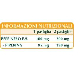 PEPE NERO ESTRATTO TITOLATO 60 pastiglie (30 g) - Dr. Giorgini