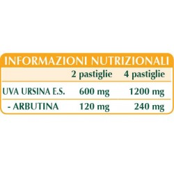 UVA URSINA ESTRATTO TITOLATO 60 pastiglie (30 g) - Dr. Giorgini