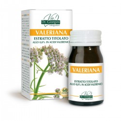 VALERIANA ESTRATTO TITOLATO 60 pastiglie (30 g) - Dr....