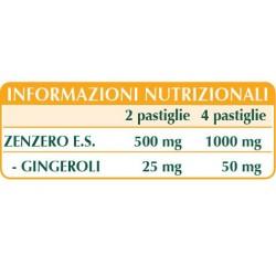 ZENZERO ESTRATTO TITOLATO 60 pastiglie (30 g) - Dr. Giorgini